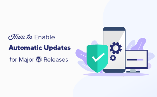 Turning on automatic updates for major WordPress releases