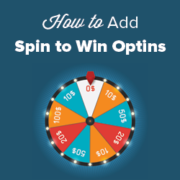 How to Add Spin to Win Optins in WordPress and WooCommerce