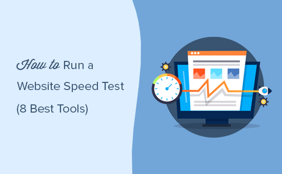 Running a website speed test with proper tools