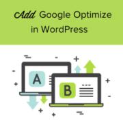 How to Add Google Optimize in WordPress (2 Easy Methods)