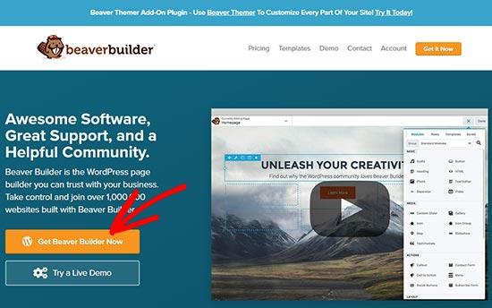 Beaver Builder Website