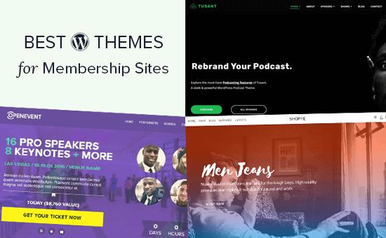 Best WordPress Themes for Membership Sites