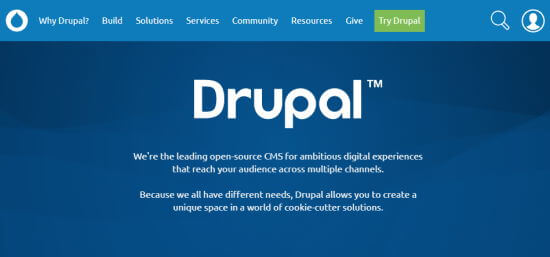 The Drupal front page