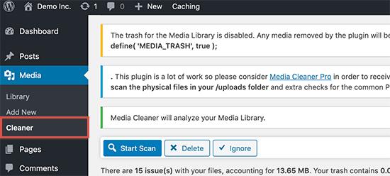 Media Cleaner