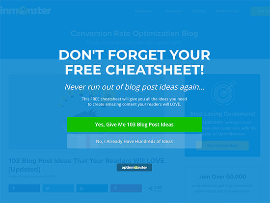 Cheat Sheet Lead Magnet Welcome Mat