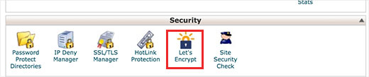 Enable free SSL certificate from cPanel