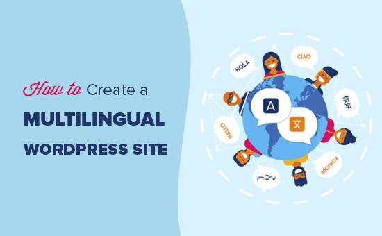 Creating a multilingual WordPress site