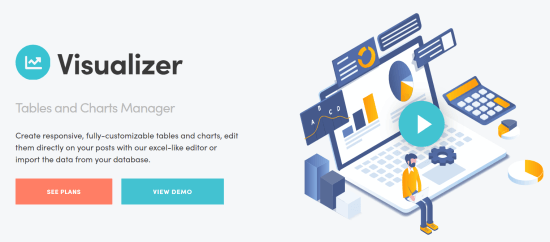 Visualizer tables and charts manager plugin