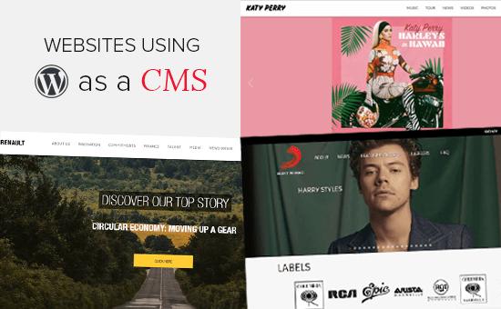 WordPress as a CMS: 25 Examples Using WordPress as CMS