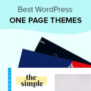 25 Best One Page WordPress Themes