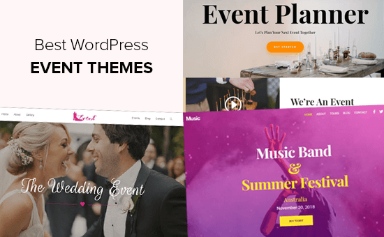 Best WordPress Themes for Events and Conferences