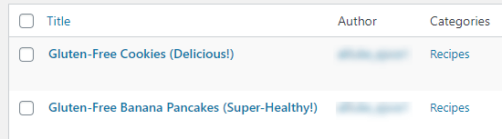 Posts in the category 'Recipes'