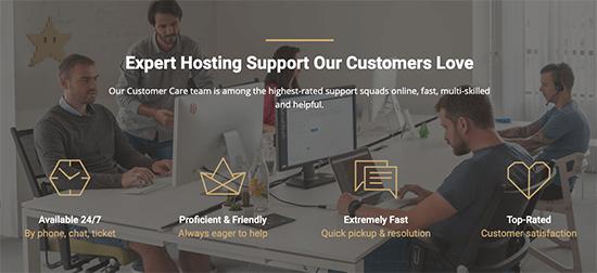 SiteGround Enterprise Support
