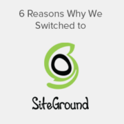 6 Reasons Why WPBeginner Switched to SiteGround Hosting