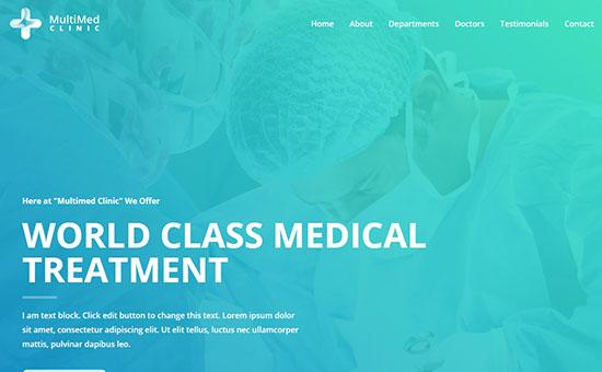 Astra Medical Theme