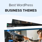 30+ Best WordPress Business Themes