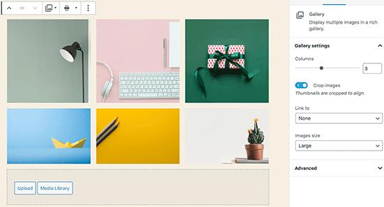Adding a gallery in WordPress