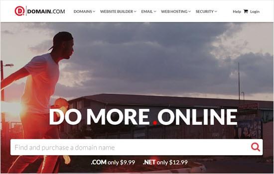 Registrare un nome di dominio con Domain.com
