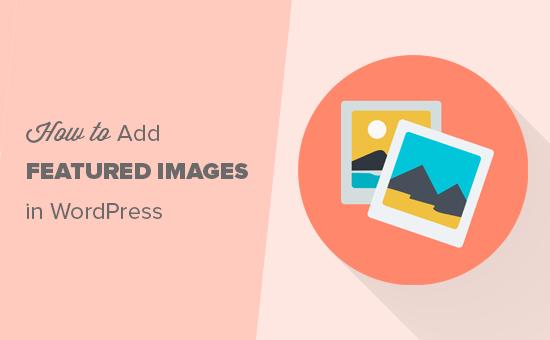 在WordPress中添加特色图片
