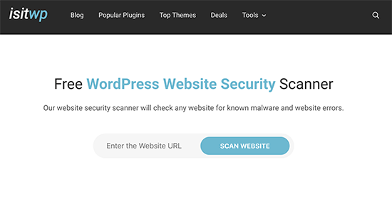 IsItWP Security Scanner