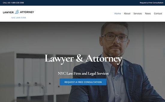 Ultra Lawyer Theme