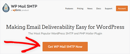 WP Mail SMTP - get started