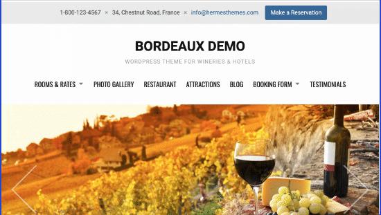 Bordeaux Theme