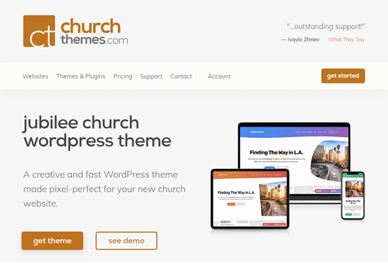 Jubilee theme from ChurchThemes