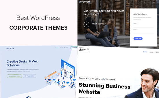 Best Corporate WordPress Themes for Your Business