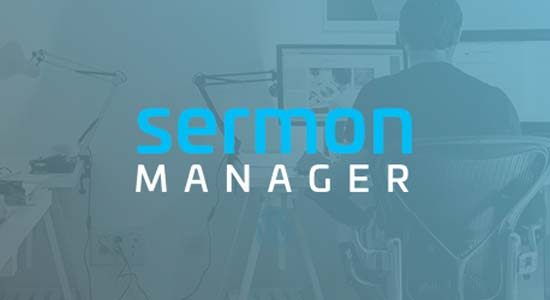 Sermon Manager