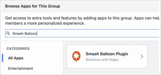 Find Smash Balloon App