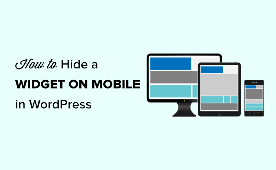 Hiding a WordPress widget on mobile devices