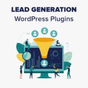 9 Best Lead Generation WordPress Plugins (Powerful)