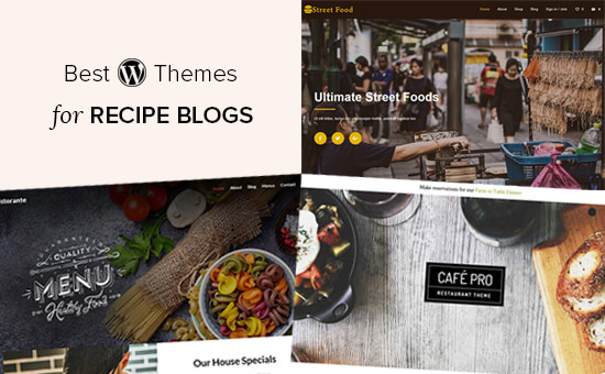 Best WordPress themes for food and recipe blogs