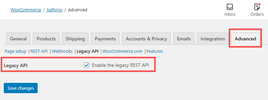 Enabling the Advanced Legacy REST API in WooCommerce so you can connect to Printful