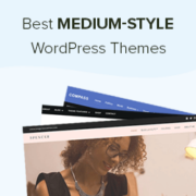 24 Best Medium-Style WordPress Themes