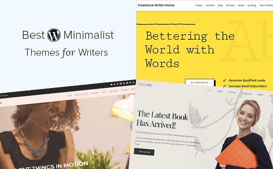 Best Minimalist WordPress Themes for Writers