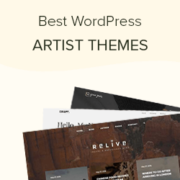 29 Best WordPress Themes for Artists