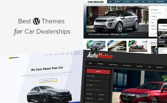 19 Best Wordpress Themes For Car Dealerships 2021