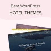 25 Best Hotel WordPress Themes with Beautiful Designs