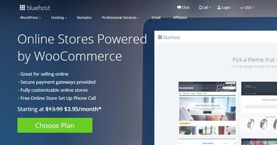 Bluehost's special offer for WPBeginner readers