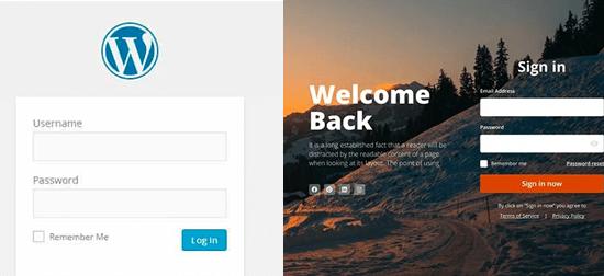 Custom Login Page for WordPress