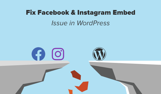 Fix Facebook and Instagram oEmbed Issue in WordPress