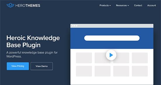 HeroicKB WordPress Plugin