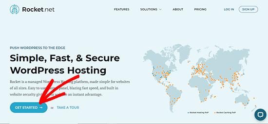 Rocket Website