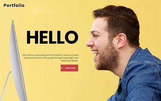 Ultra premium portfolio wordpress theme