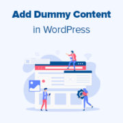 How to Add Dummy Content for Theme Development in WordPress