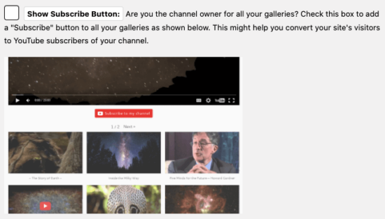 Embed Plus for YouTube – gallery, channel, playlist, live stream