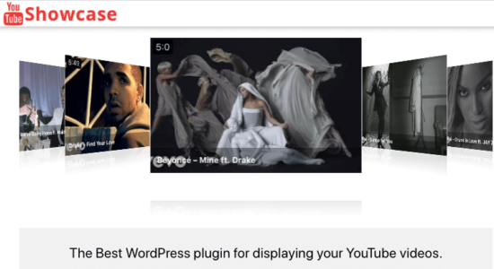 YouTube Showcase plugin