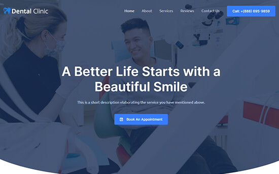 Astra theme for dentists
